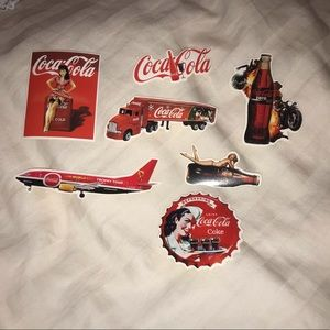 Vintage Coca-Cola Stickers🥤♥️